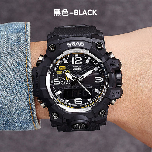 LED Men Waterproof Sports Anti Shock