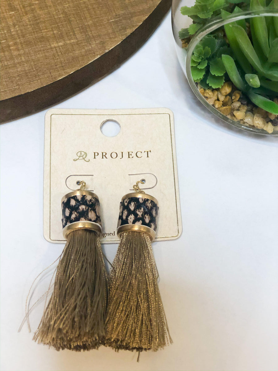 Mojave Tassel Earrings - 3 Colors