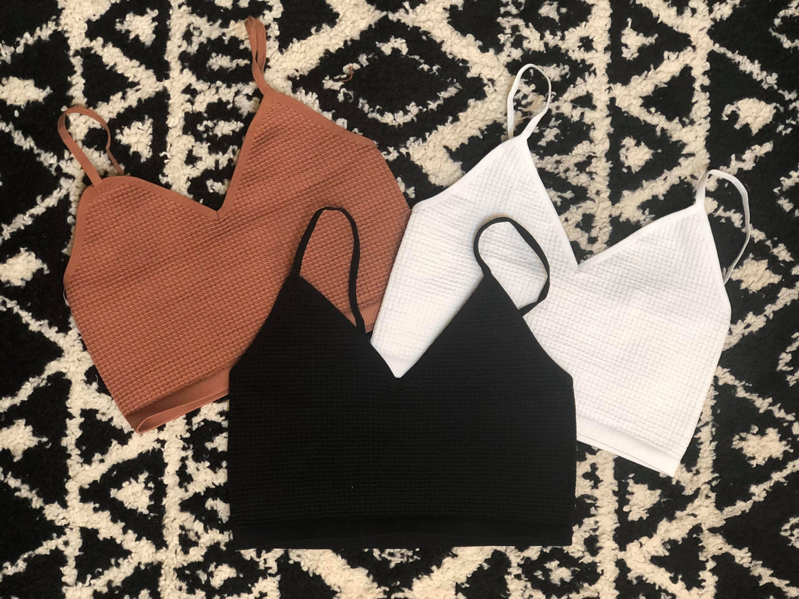 High Gear Bralette - 3 Colors