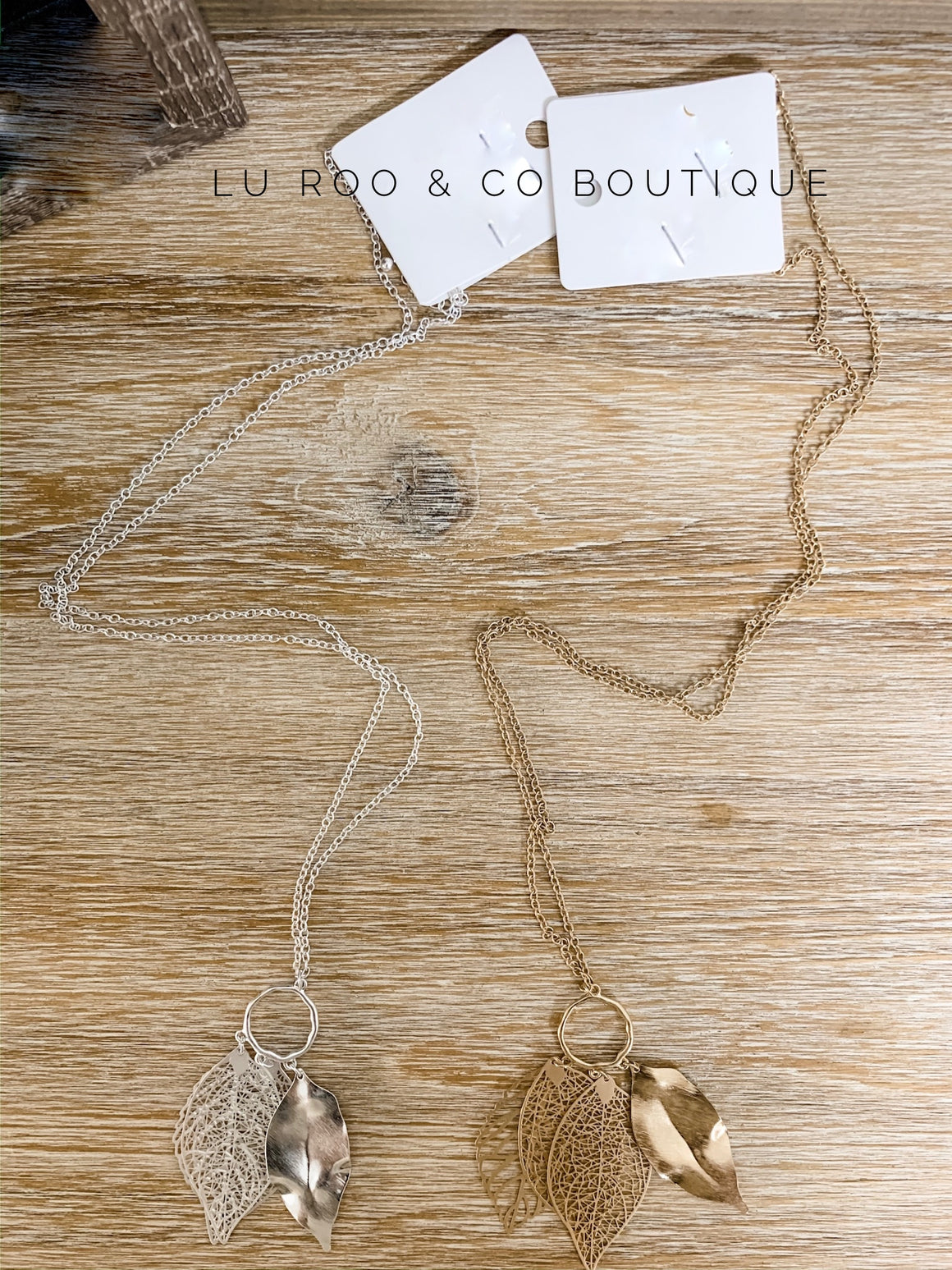Lenexa Necklace ( 2 Colors)