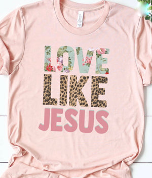 Love Like Jesus Graphic (Standard & Extended)
