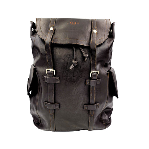 FORD PARIS MENS LEATHER BACKPACK