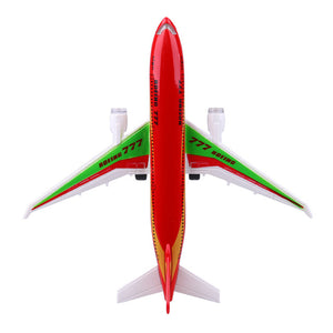 Air Bus Toy Passenger Airliner Flashing LED Light - Toy Planes for Children