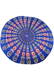 Round Beach Towel Yoga Mat
