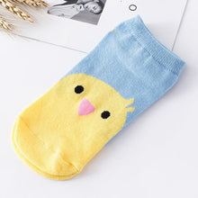 Women Funny Socks Elasticity Comfortable Cartoon Animal Pattern Cute Sock Slippers Short  Ankle Socks