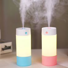 250ML Humidifier Cool Mist Ultrasonic Humidifiers for Babies Bedroom Night Light Mode USB Powered and Whisper Quiet for Office Home Car