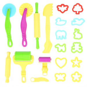 20pcs Smart Dough Tools Kit with Models and Molds
