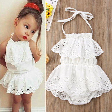 Pudcoco Cute Newborn Kids Baby Girl Infant Lace Romper Dress Jumpsuit Playsuit Clothes Outfits
