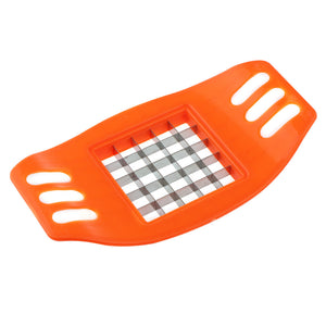 1Pcs Potato Chips Cutter Stainless Steel Vegetable Square Slicer Cutting Device Cut Fries Kitchen Tool