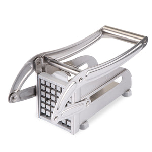 ABEDOE Stainless Steel Potato Chips Cutter Vegetable Cutter Kitchen Gadgets with 2 Blades
