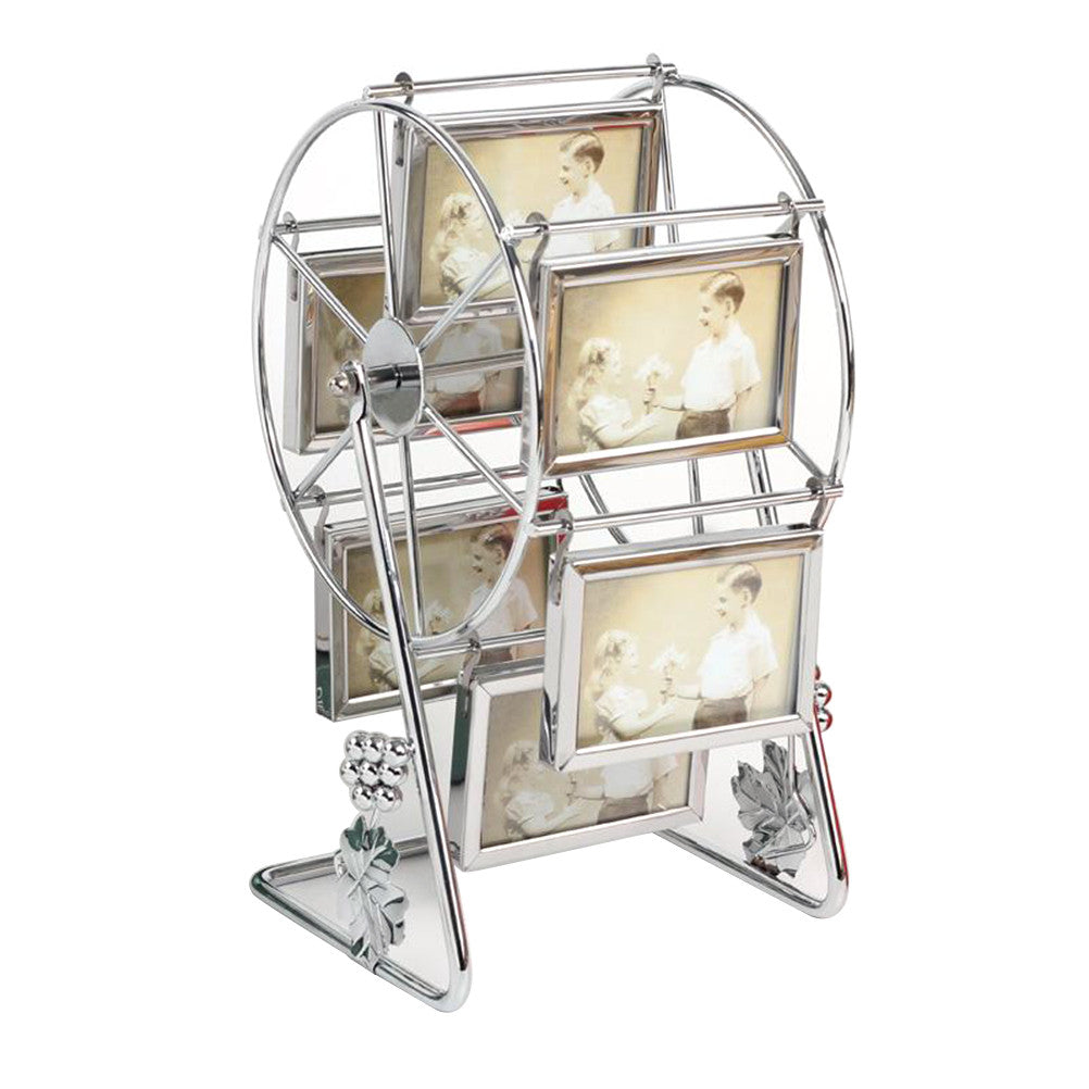 Large Rotating Ferris Wheel Picture Frame Vintage Family Classic Home Decor