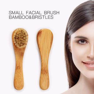 1PC Body Natural Bristle Dry Skin Exfoliation Brush Massager Face Brush 8.4