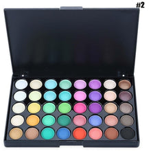 40 Colors Eye Makeup Nude Matte Shimmer Eyeshadow Pallete Glitter Powder Eye Shadow Smoky Earth Shadows Brush Set Stamp Pigment
