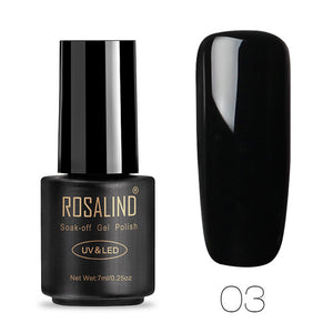 ROSALIND Gel Nail Polish Set Gel Varnishes Nail Art Manicure 7ml Primer Acrylic Gel Lacquer UV Lamp Soak Off Nails Accessoires