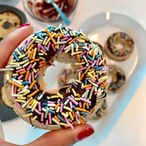 Low Carb, Sugar Free, Gluten Free Chocolate Doughnuts