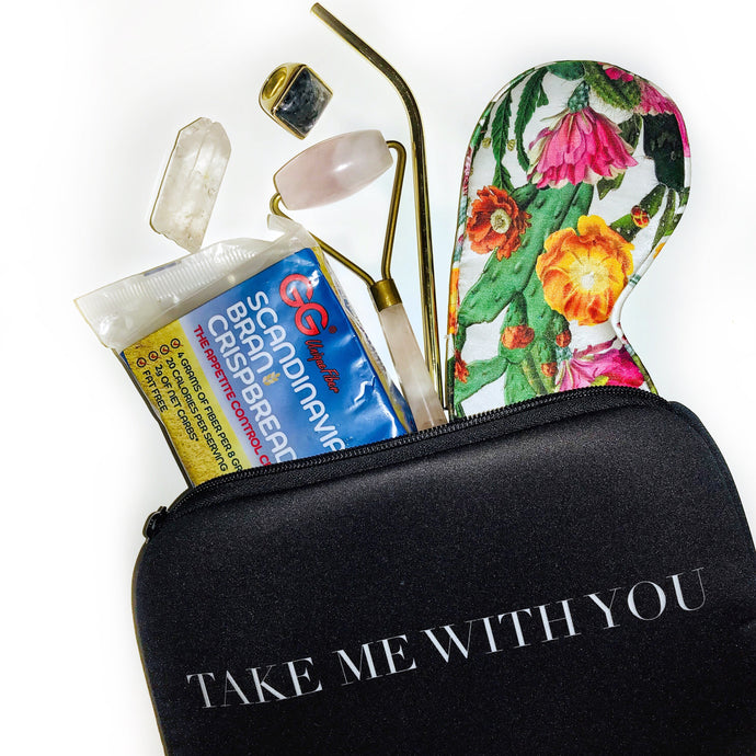 TAKE ME WITH YOU COSMETIC BAG