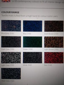 High Quality Rubber backed entrance mat 10 colour options and any size