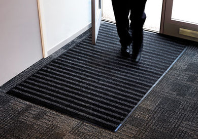 Combined Scraper Heavy Duty rubber backed entrance mat