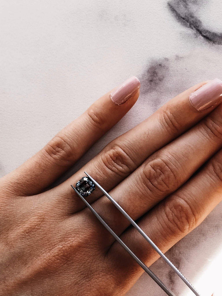 Dark Grey Asscher