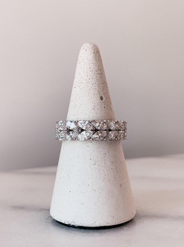 The Kaitlyn - Marquise Eternity Band