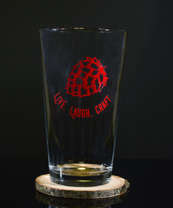 """The Red"" Craft Beer Glass"