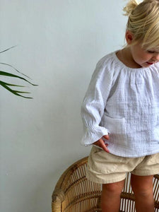 Little Indahs Abbey Linen Blouse