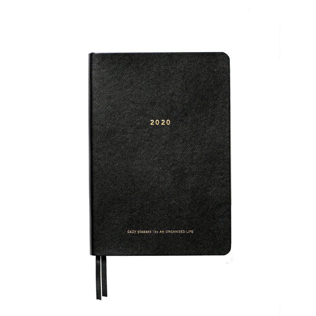 An Organised Life 2020 Daily Planner Gold