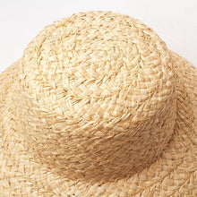 Load image into Gallery viewer, Straw Dome Sun Hat