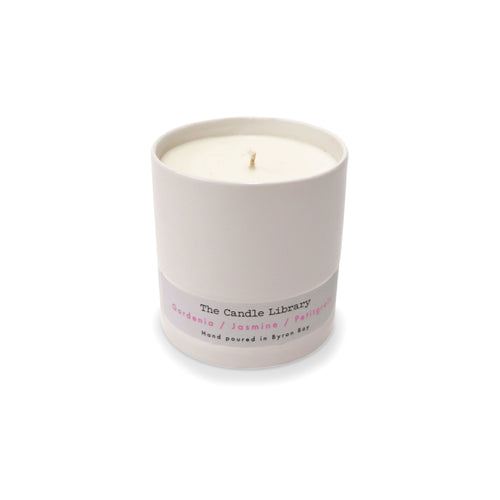 The Candle Library Gardenia / Jasmine / Petitgrain Candle
