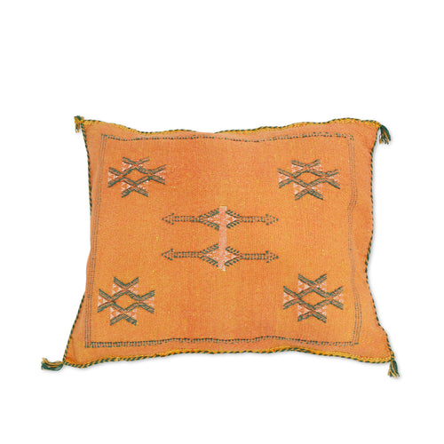 Moroccan Cactus Silk Cushions (Rectangle)