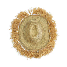 Load image into Gallery viewer, Moroccan Raffia Fringe Hat