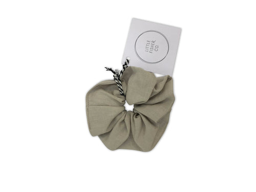 Little Fisher Co. French Linen Scrunchie