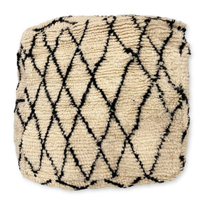 Moroccan Beni Ourain Floor Cushion
