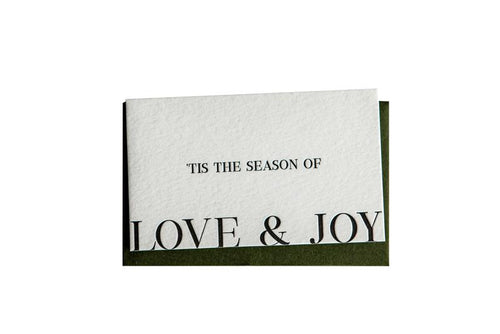 Clare Bernadette 'Tis The Season Gift Card