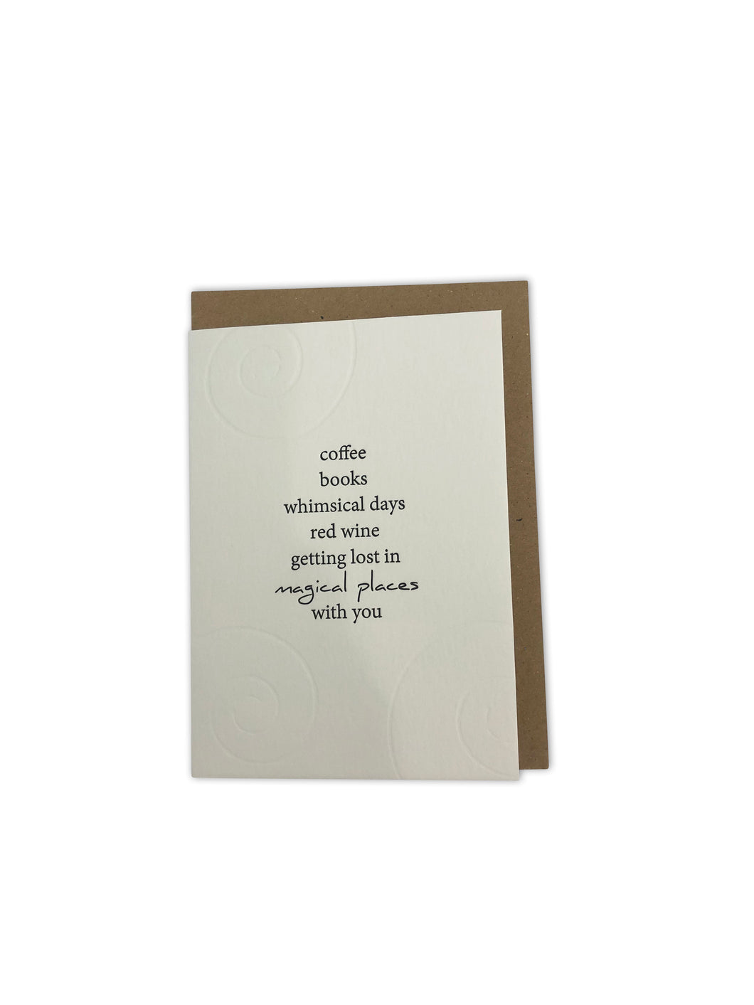 Clare Bernadette Coffee Card