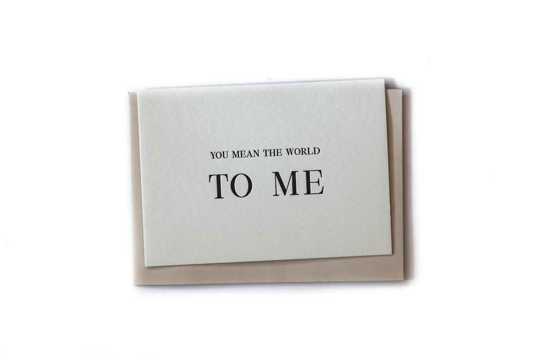 Clare Bernadette The World To Me Gift Card