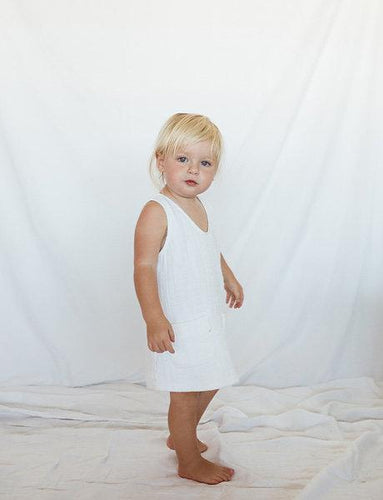 Little Indahs Billie Linen Dress