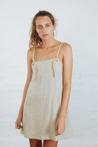 Nice Martin Jace Mini Dress in Natural