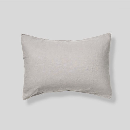 IN BED 100% Linen Pillowslip Set in Dove Grey