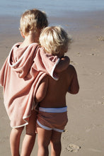 Load image into Gallery viewer, Zulu & Zephyr Mini Towel Pullover — Terracotta