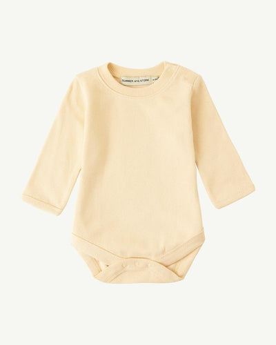 Summer & Storm Ribbed Body Long Sleeve Sand