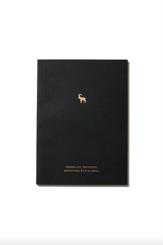 An Organised Life Capricorn Notebook