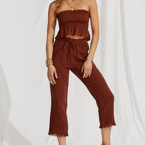 Maurie & Eve Sundream Pant in Terracotta