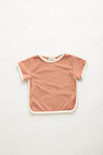 Load image into Gallery viewer, Zulu & Zephyr Mini Towel Tee — Terracotta