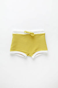 ZZ Mini Mini Band Short — Citrus