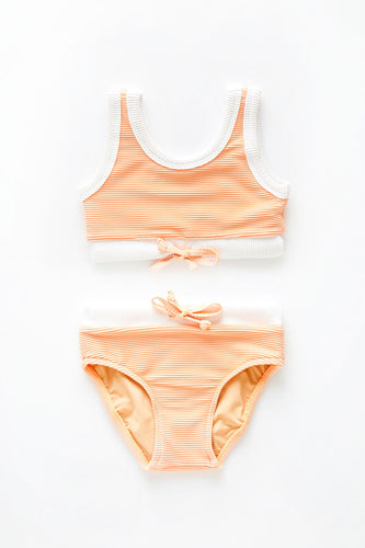 ZZ Mini Mini Band Bikini — Grapefruit