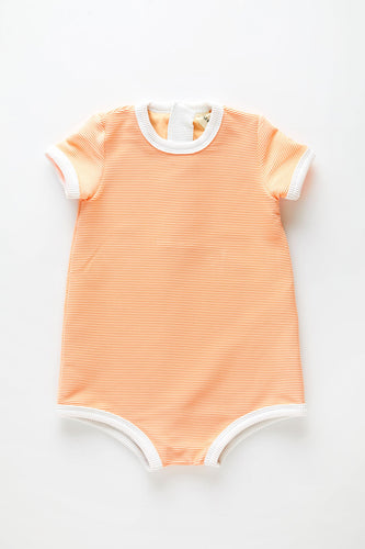 ZZ Mini The Mini Rib Onesie — Grapefruit