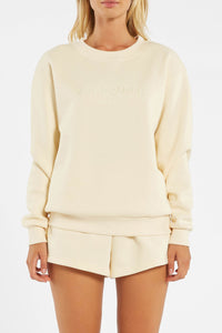 Zulu & Zephyr Classic Jumper in Cream