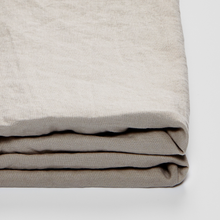Load image into Gallery viewer, IN BED 100% Linen Fitted Sheet in Dove Grey