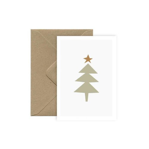 Michoucas Christmas Tree Card
